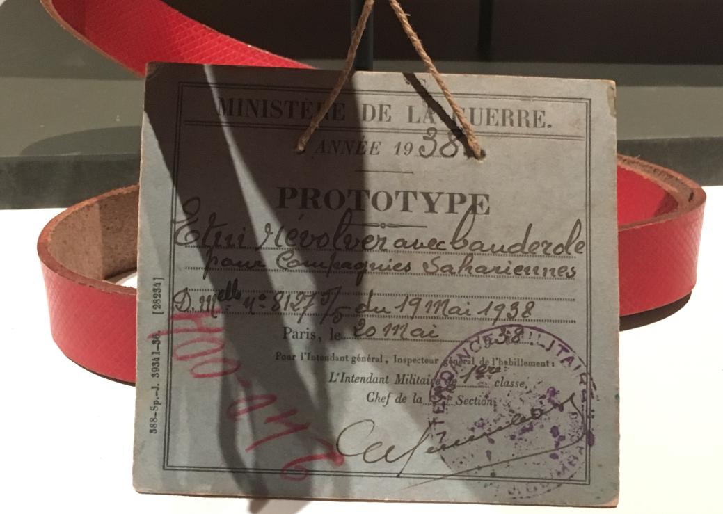 Canons de l'élégance - fiche prototype