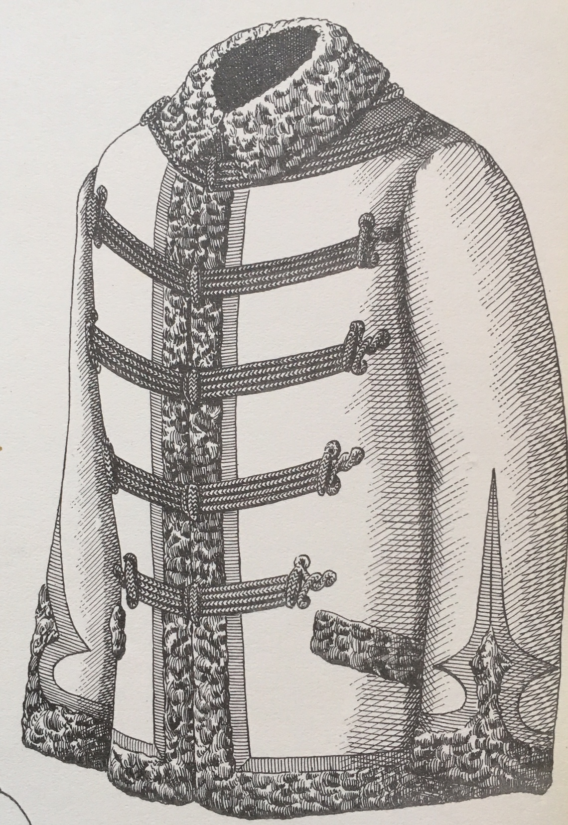 Pelisse modèle 1889 recto