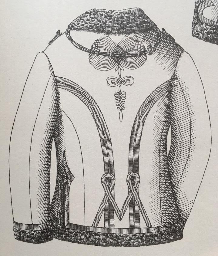 Pelisse modèle 1889 verso