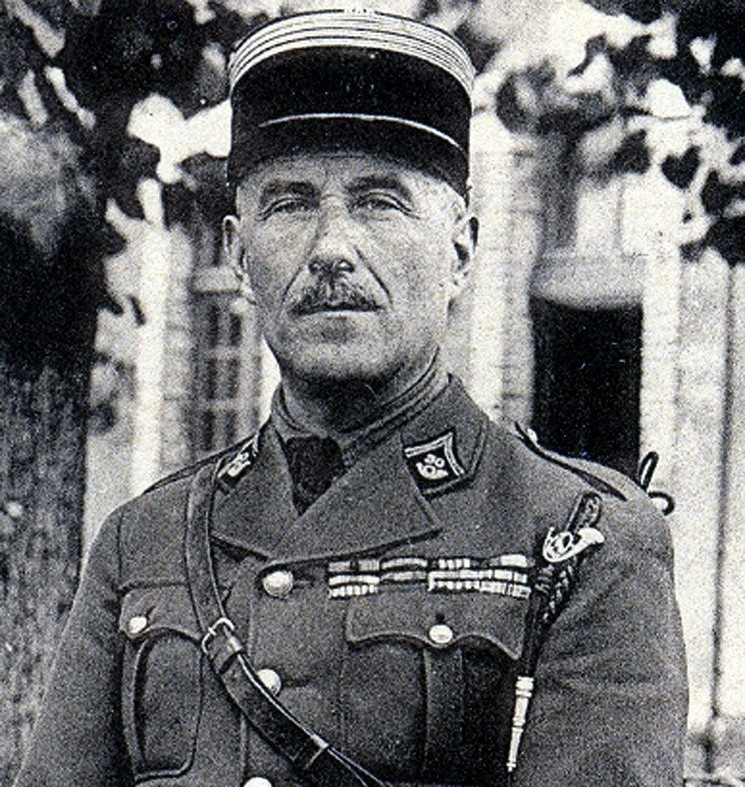 Chef de Bataillon Marlier