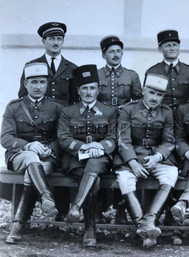 Aéronautique militaire - officiers Levant détails 2