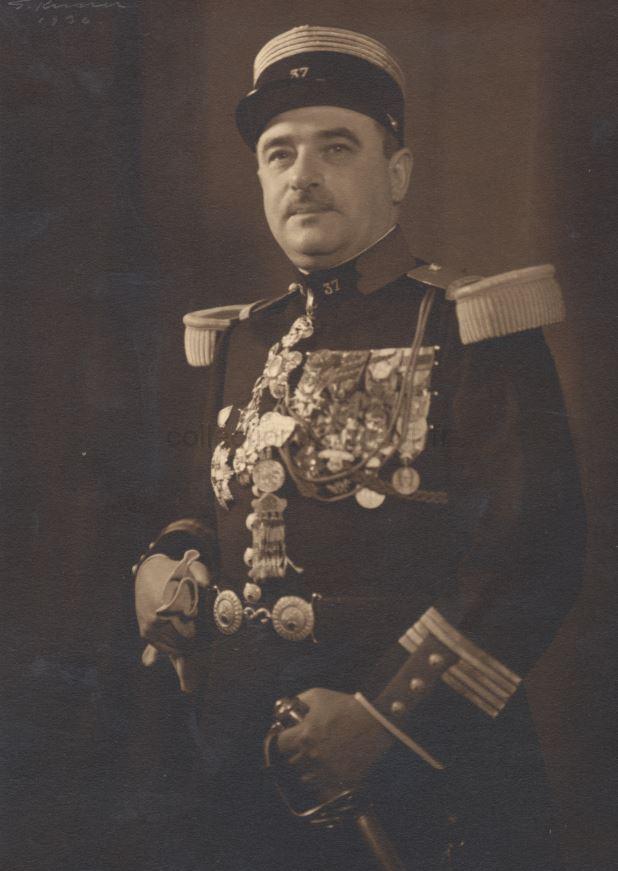Colonel Lambert chef de corps du 37e RI